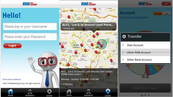 RHB Android Application