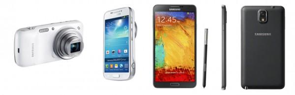 Samsung Galaxy S4 Zoom & Samsung Note 3