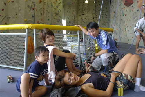 wall climbing with vinn, haze, sebbie