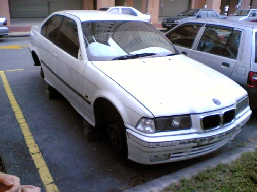 Salvaged or Stolen BMW 3 series E36