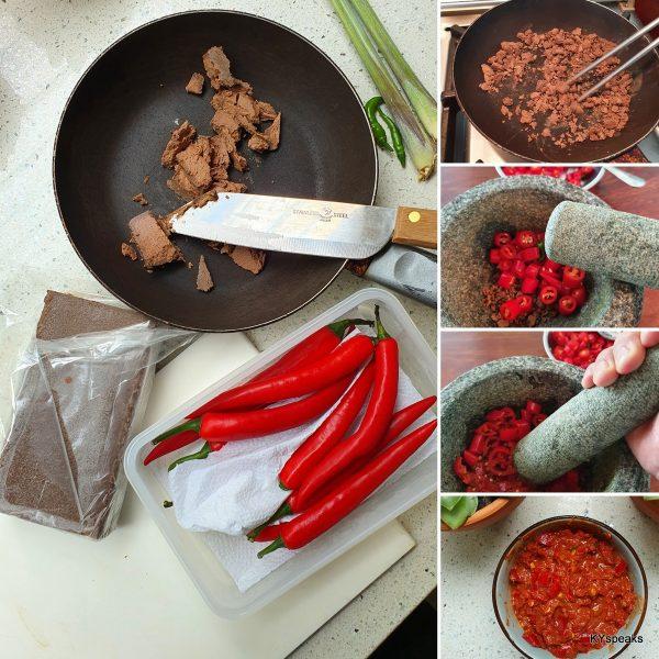 sambal belacan recipe