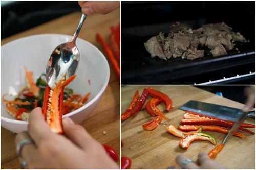sambal belacan's ingredients - chili & belacan