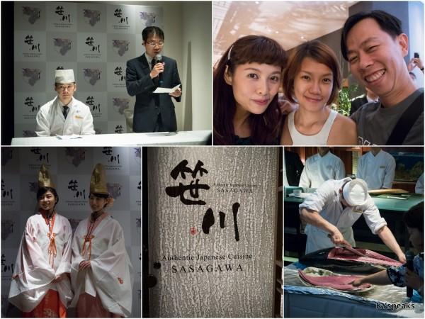 chef Sasagawa, Ringo, Haze, KY at Sasagawa Sheraton Imperial KL