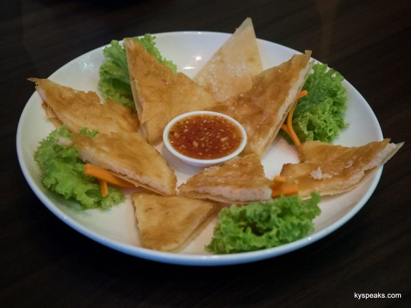 crispy fried prawn cracker