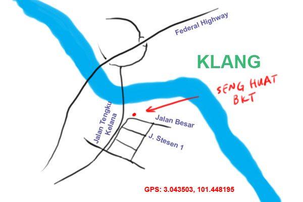 Seng Huat Bak Kut Teh map
