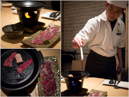 wagyu beef shioyaki