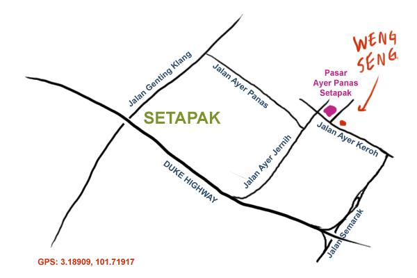 setapak market map