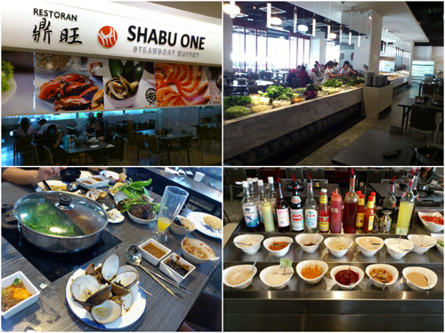 Shabu One, the new steamboat place at Lot 10