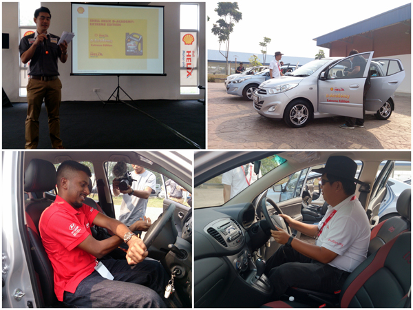 Shell Helix D-Academy defensive driving course at MAEPS