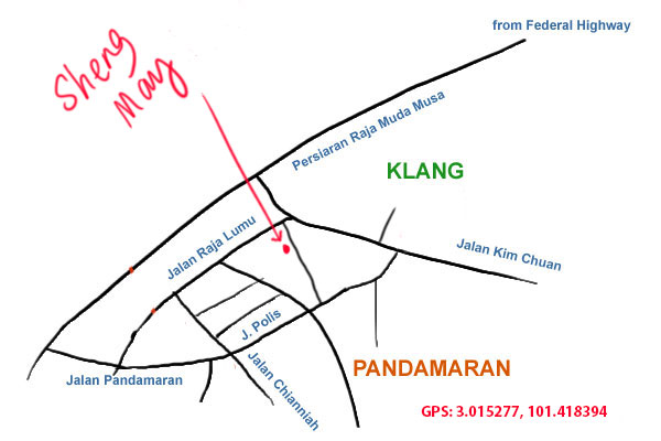 Sheng May Klang, map