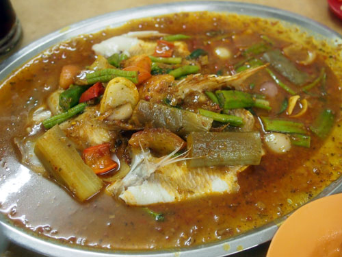 the glorious asam fish - tilapia