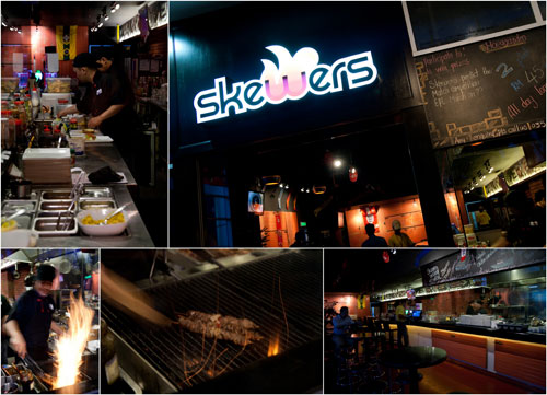 Skewers restaurant at Subang Avenue