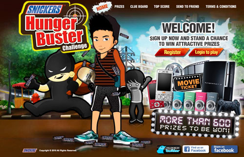 Snickers Game - Hunger Buster