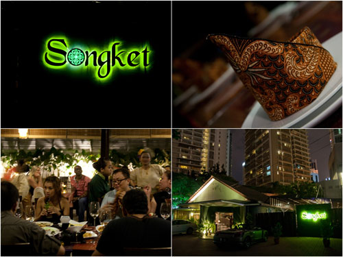 Songkek restaurant at Jalan Yap Kwan Seng