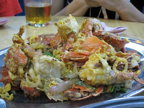 scrumptious butter crab