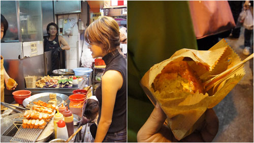 stinky tofu at Mong Kok