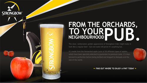 Strongbow, premium cider
