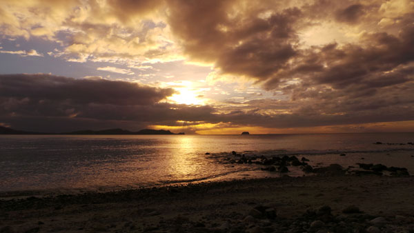 Sunset at Anilao
