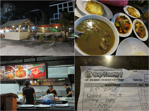 restaurant Sup Kaww at kelana jaya