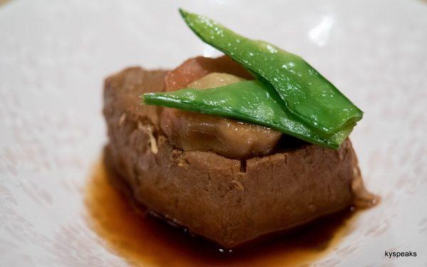 stewed sowrd fish
