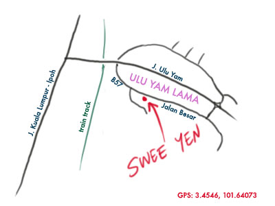 map to ulu yam lor mee