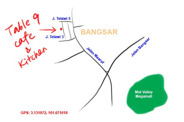 table 9 map bangsar telawi 3