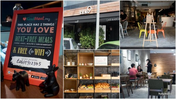 Table 9 Cafe & Kitchen, Bangsar Jalan Telawi 3
