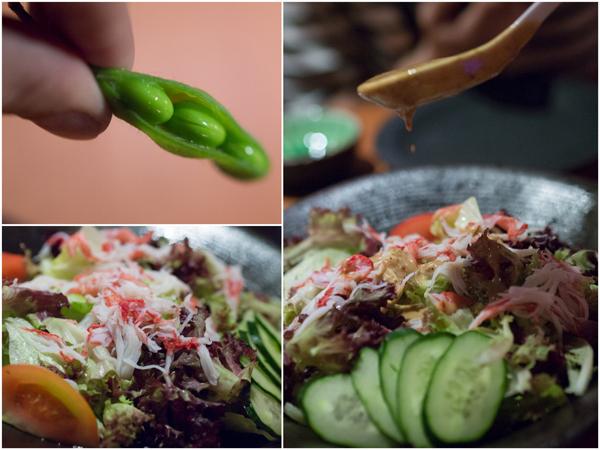 edamame and Kani Salad