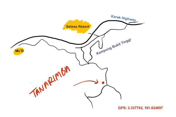 map to Tanarimah