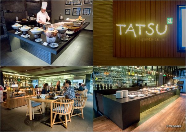 Authentic Japanese Buffet at Tatsu