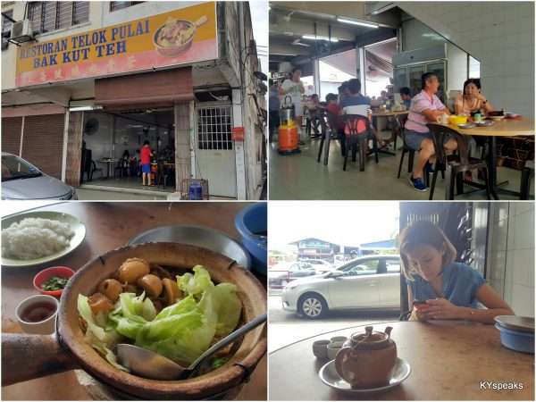 Original Teluk Pulai Bak Kut Teh shop, at Jalan Teluk Pulai of course