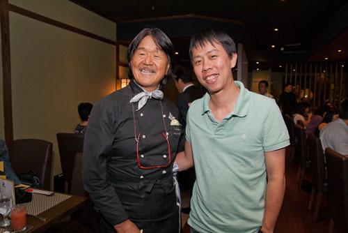 King of Iron Chef - Hiroyuki Sakai, and Yours Truly