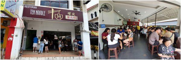Ten Noodle, Dataran Sunway, Kota Damansara, PJ
