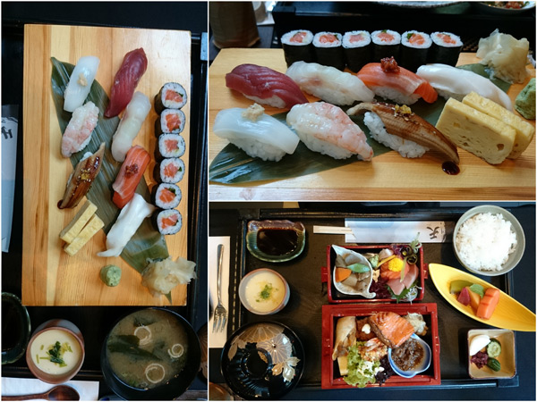 Assorted Sushi & Ten Special Bento