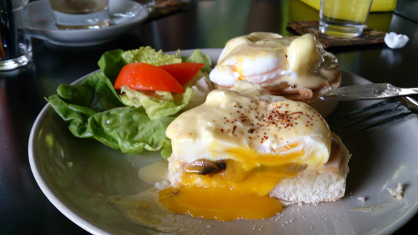 one of my favorite egg benedicts