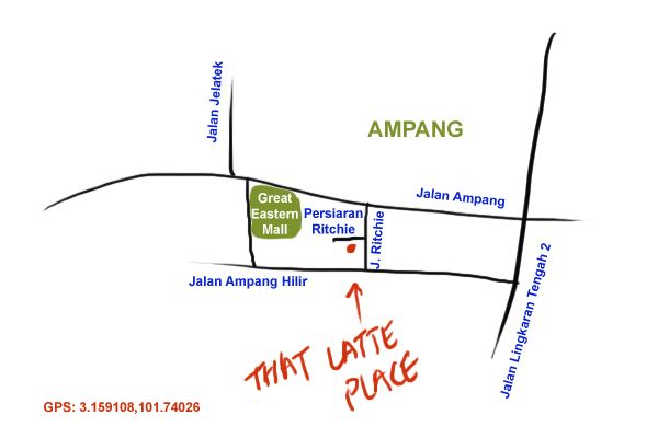 That Latte Plate is located at Ampang Hilir
