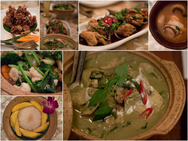 classic Thai cuisine at The Thai Pavilion