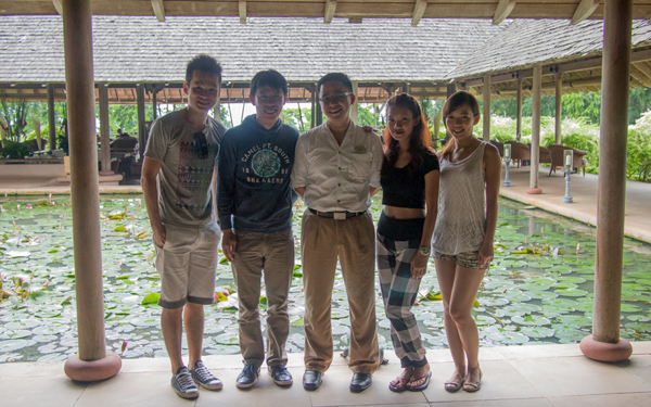 Lex, KY, Ardi, Haze, and WeiZhi the Datai Langkawi