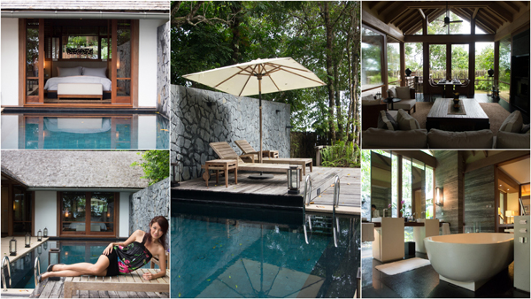 this is the beach villa at The Datai, 475 sq. meters of awesomeness