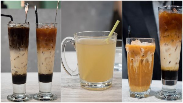 3 layer coffee? Lemongrass? or classic Thai iced tea?