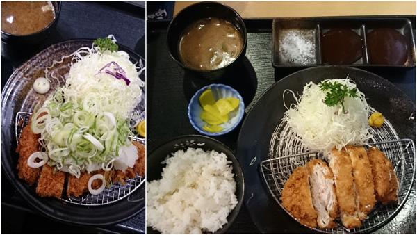 Wafu Negioroshi Hire Katsu and Hire Katsu