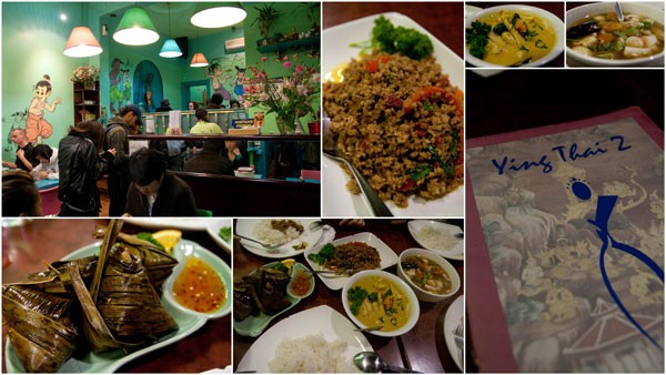 Ying Thai 2 offers one of the best Thai foods around