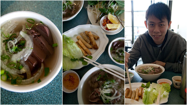 authentic as you can get Vietnamese pho, even has coagulated blood