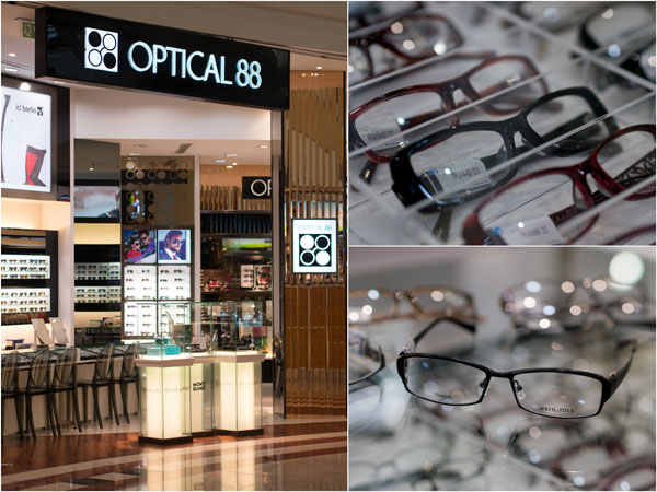 Optical 88 at Suria KLCC, and my choice of frame