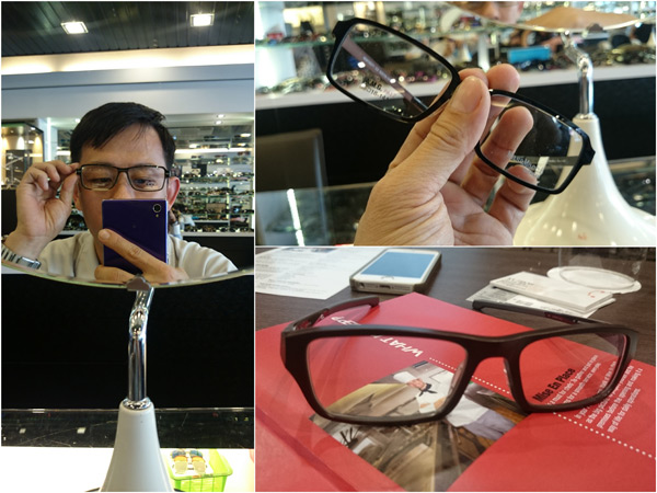 Transitions lenses work with many types of frames