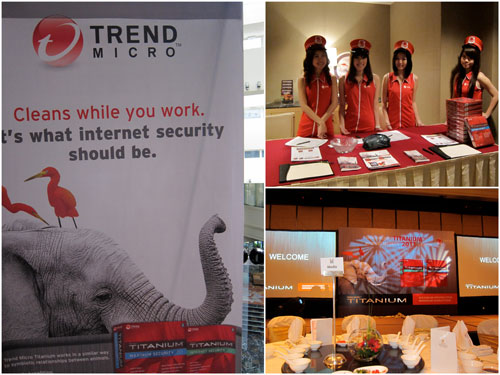 Trend Micro Titanium maximum security product launch