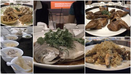 food at Grand Millenium KL
