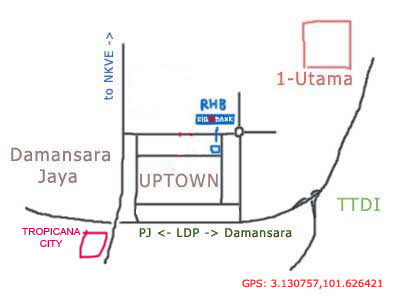 tropicana city mall map