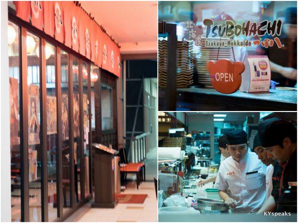 Tsubohachi Hokkaido Izakaya, Publika