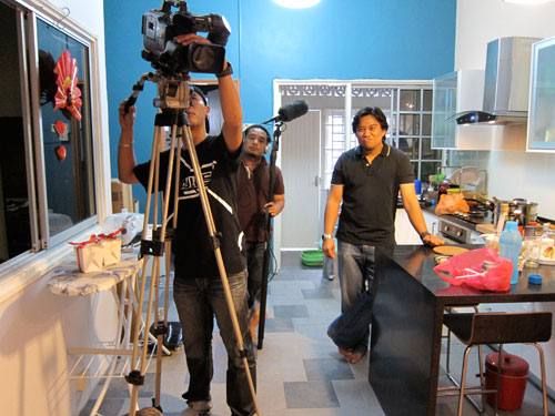 Malaysia Kini crew - led by Nazrul